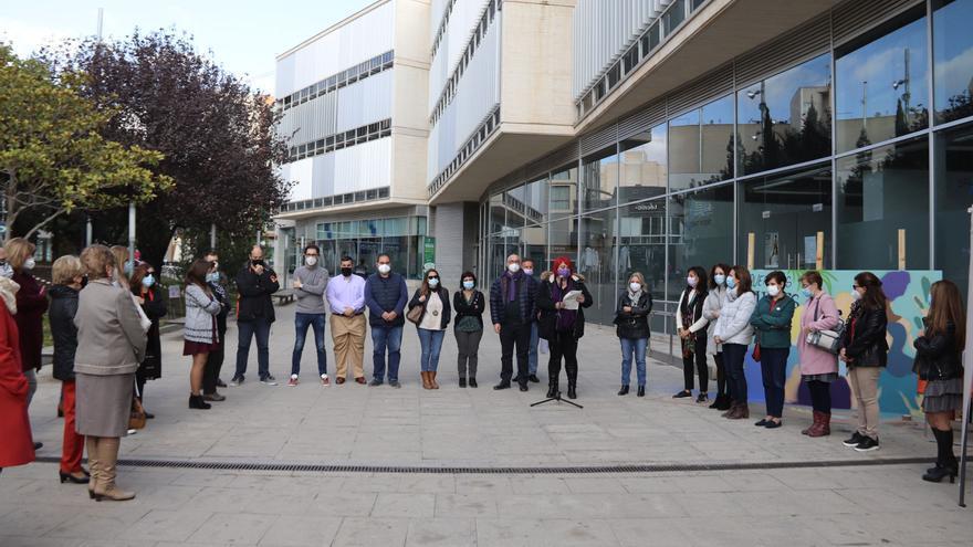 La comarca de l'Alacantí conmemora con distintos actos el 25-N