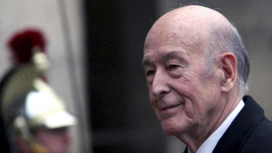Hospitalizado el expresidente francés Giscard d'Estaing