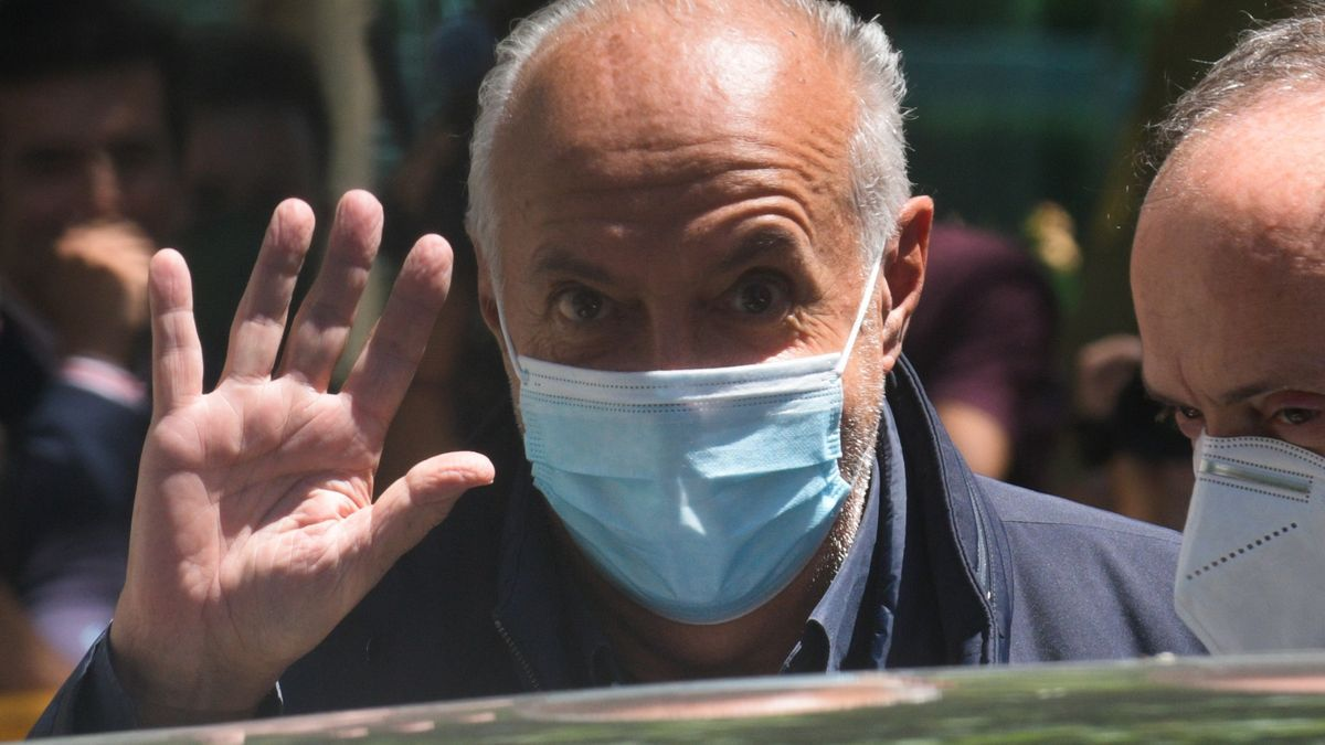 El productor de televisión José Luis Moreno.