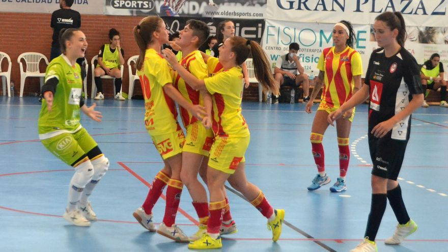 Estreno con victoria y oficio del Sala Zaragoza (0-1)