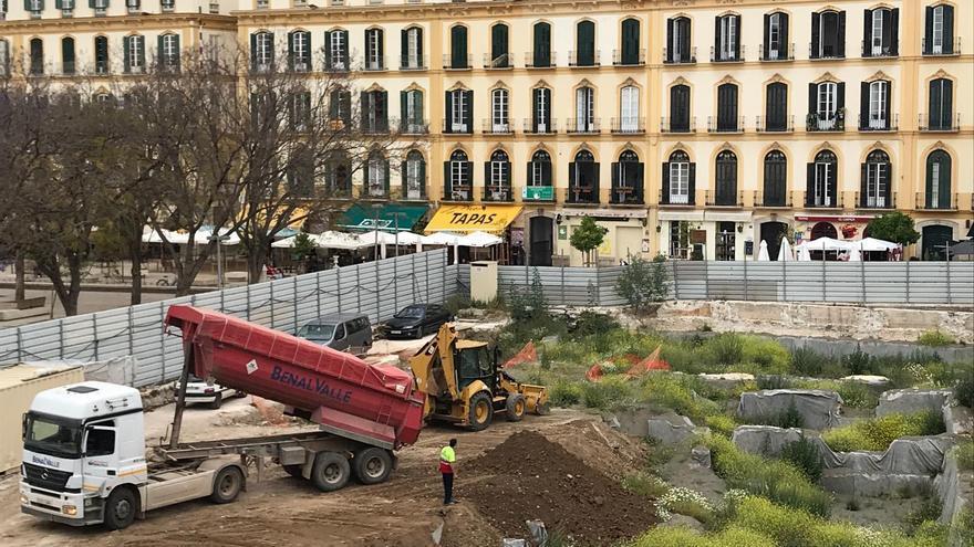 Cubren de tierra los restos hallados en el Astoria