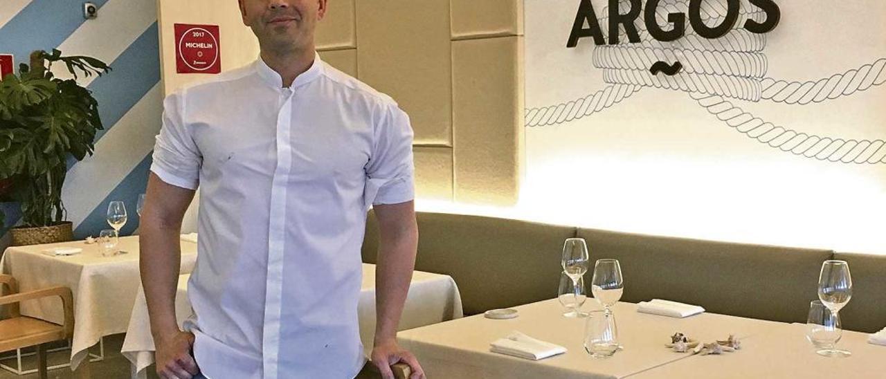 Álvaro Salazar Almansa, chef de Argos.