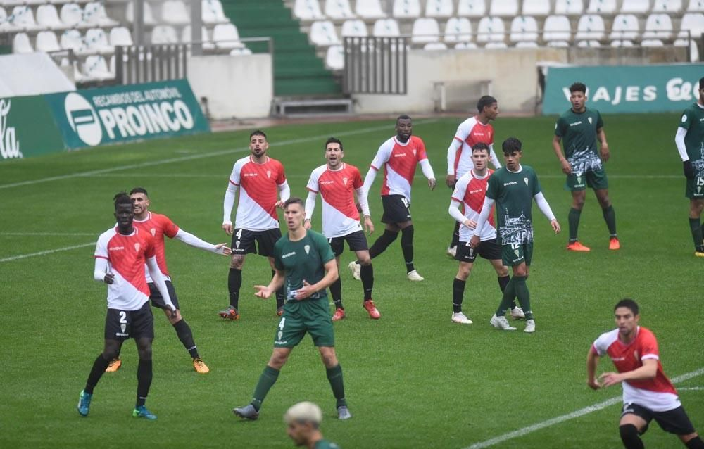 El partidillo del Córdoba CF y el Filial en imágenes