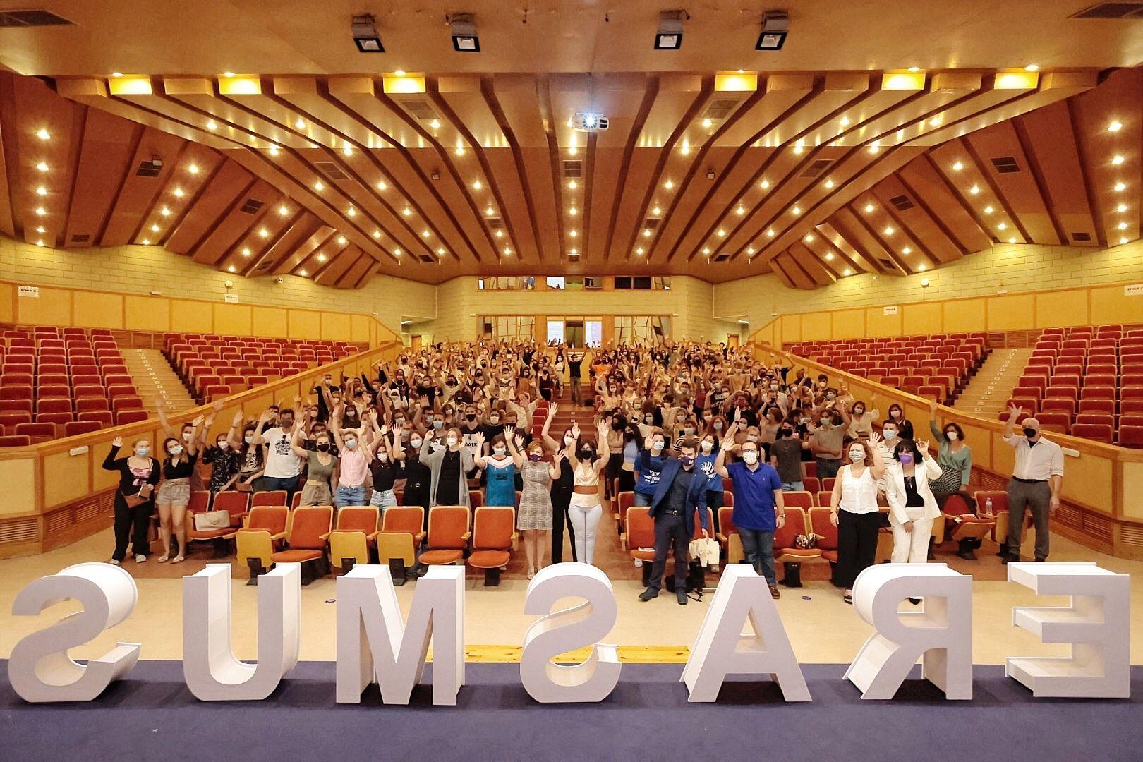 La ULL recibe a los estudiantes Erasmus del primer semestre