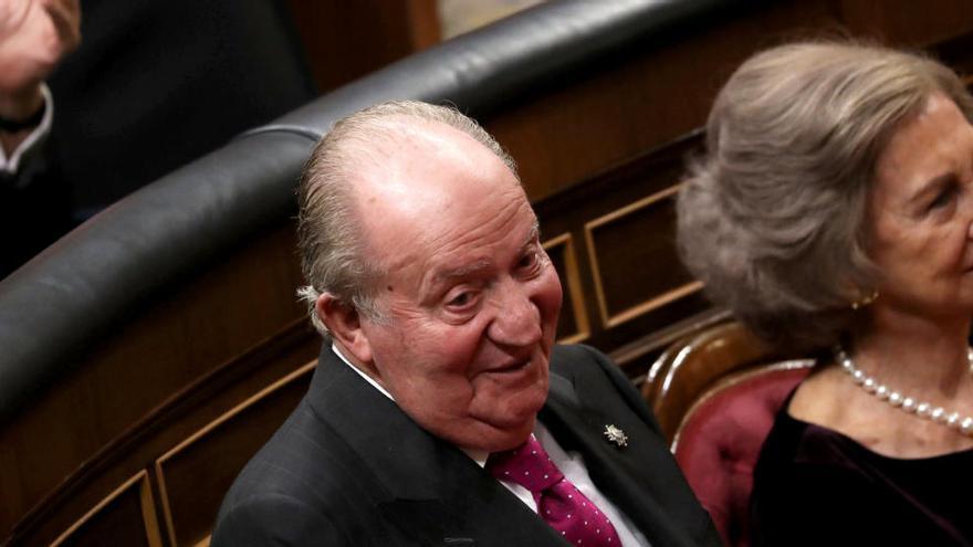 Unidas Podemos recurre el rechazo a investigar a don Juan Carlos en el Congreso
