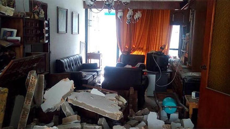 Cinco heridos por una explosión de gas en una vivienda de Málaga