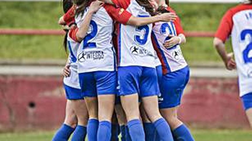 El Femenino B vence 2-1 al Victoria