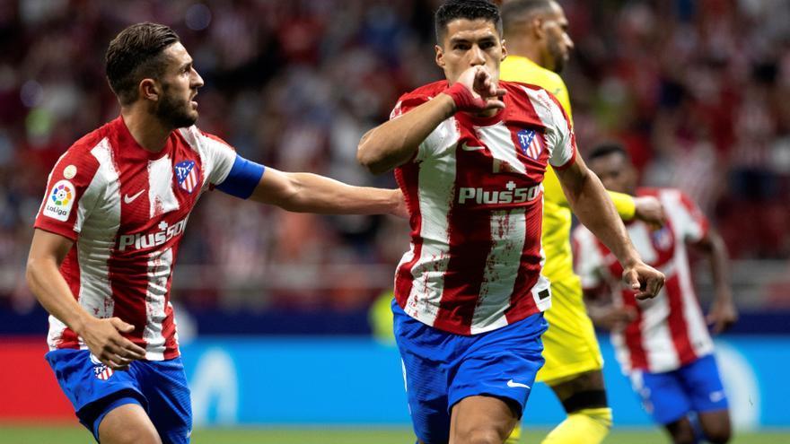 El Atlético salva un punto en el descuento