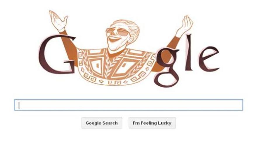 El nacimiento de Chavela Vargas inspira el Doodle