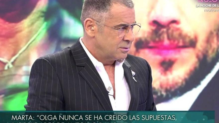 """Jorge Javier carga contra Marta López por defender a Olga Moreno: """"Es el argumento de una mujer ridícula"""""""