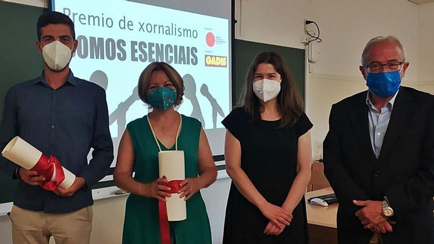 Premio para la periodista Isabel Bravo