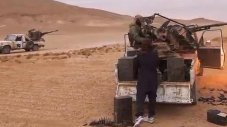 El IS recupera Palmira ante la retirada del Ejército sirio