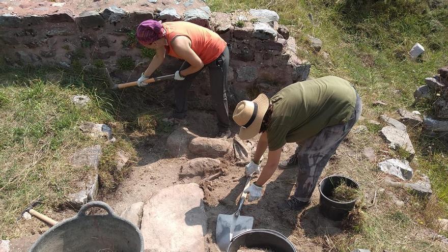 Las excavaciones regresan a Santa Cristina de Somport
