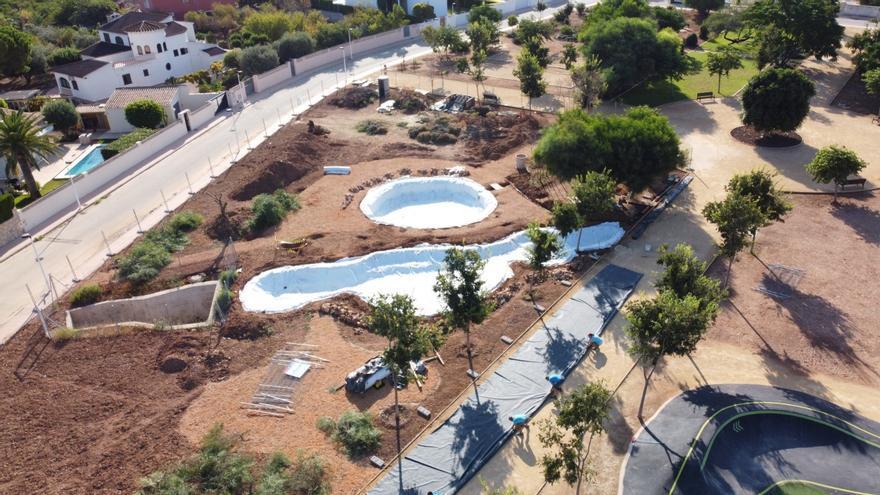 """El jardín """"El caragol"""" de Ondara será un bosque de ribera y especies autóctonas"""