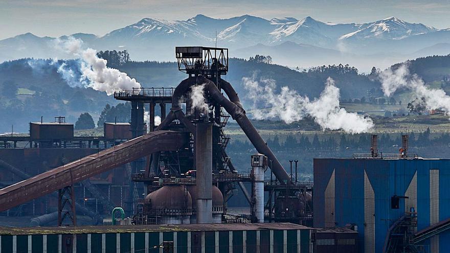 Las dos factorías asturianas de Arcelor, afectadas por el gran apagón que sufrieron un millón de hogares en España