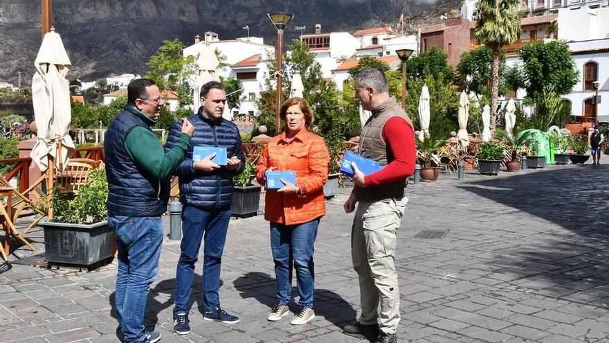 Acto electoral del PP en Tejeda
