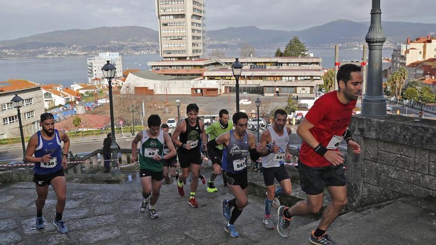 La Subida ao Castro deja cinco líderes provisionales inéditos en el circuito Run Run Vigo 2019