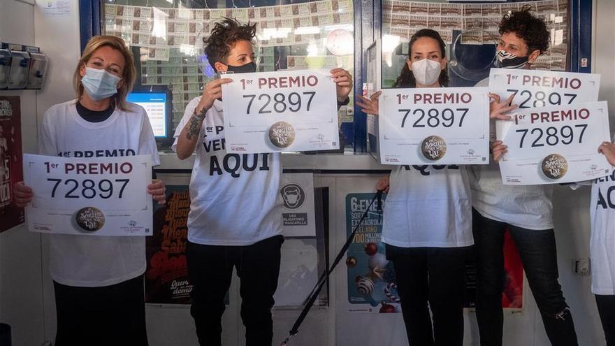 El Gordo de Navidad deja 420 millones en Punta Umbría y Granada