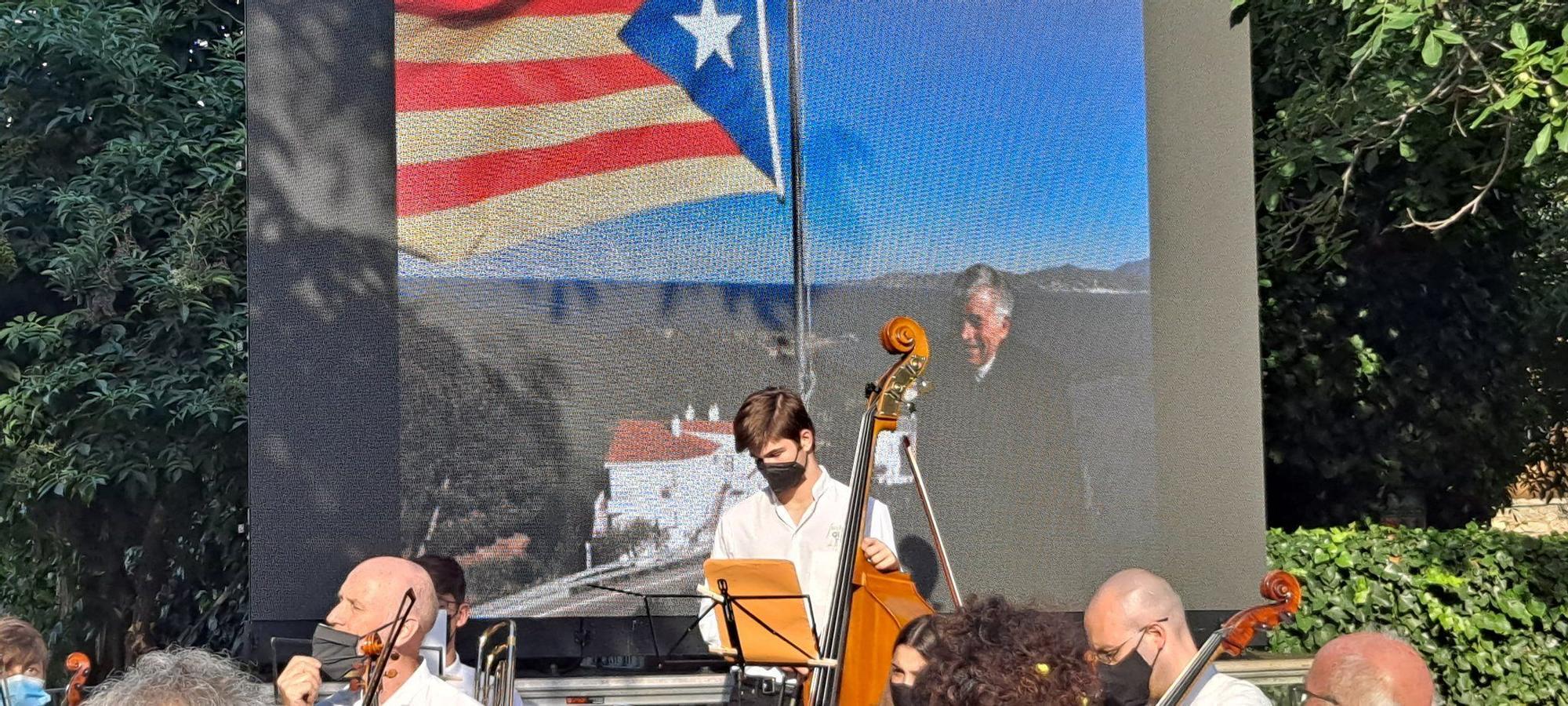 Emotiu homenatge a Albert Tomàs i Bassols al seu poble natal, Vilabertran
