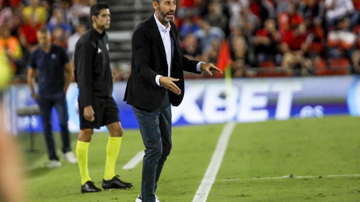 Vicente Moreno, esta temporada en el Mallorca-Athletic.