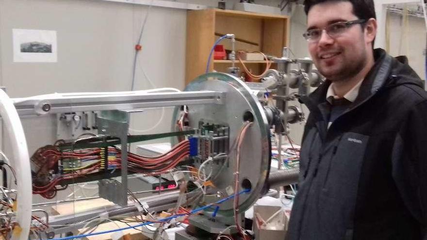 """El CERN ficha a un gallego para crear un respirador """"low cost"""""""