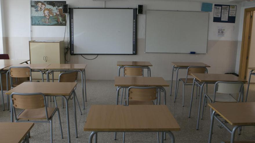 Los colegios ya cerrados ultiman su inventario de material sanitario para que se aproveche