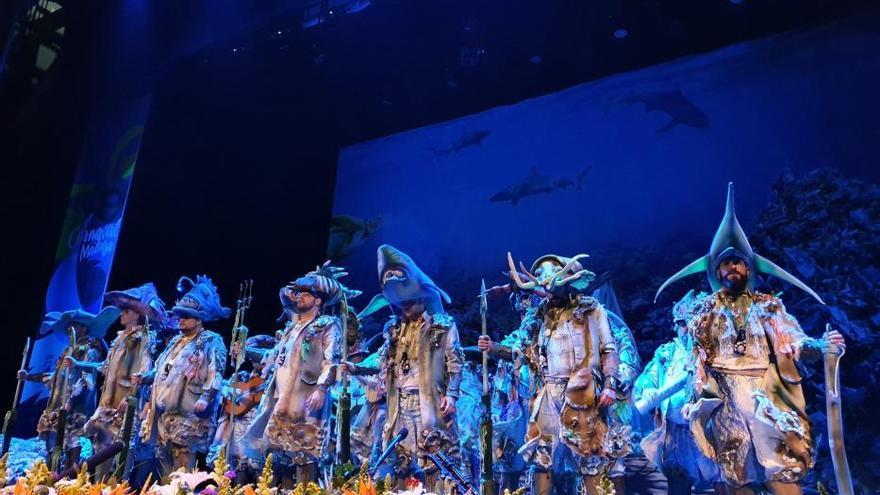 Segunda semifinal del COAC del Carnaval de Málaga 2020