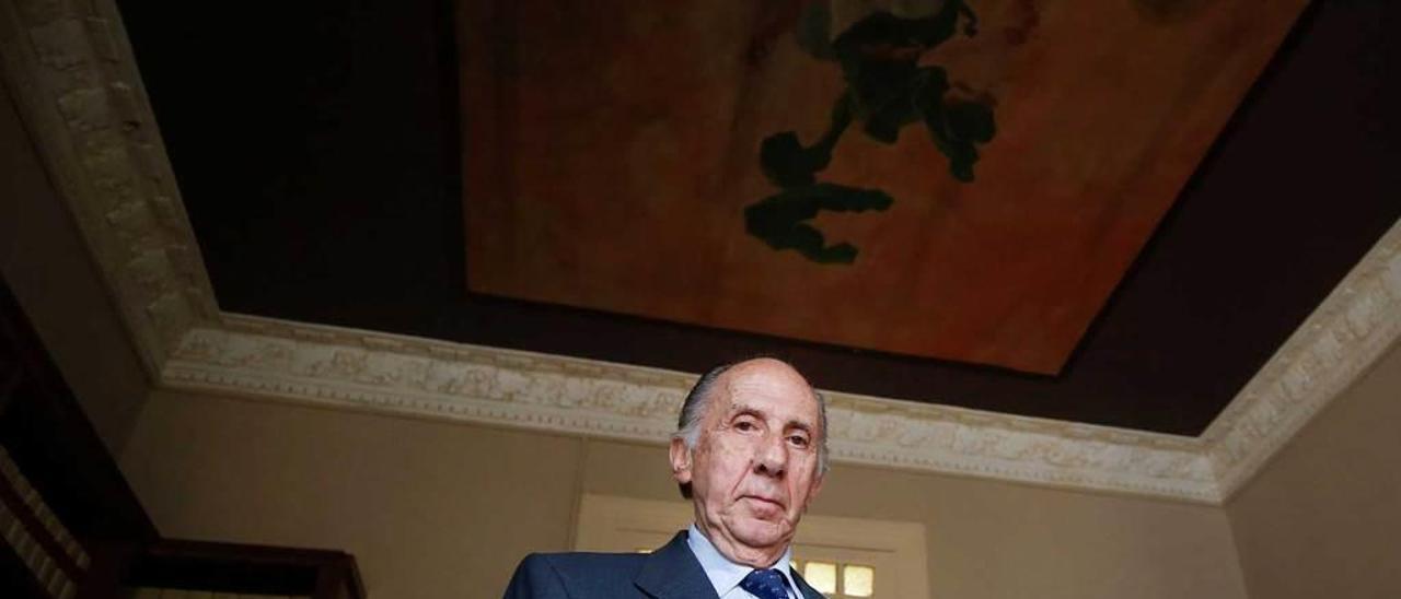 Alfredo Prieto Valiente, en su despacho en Oviedo.