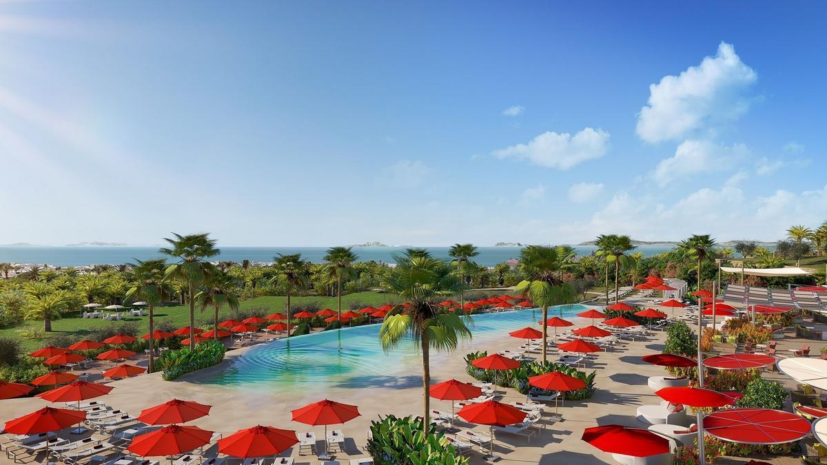 Imagen del Club Med Magna Marbella, complejo turístico que abrirá sus puertas en mayo de 2022