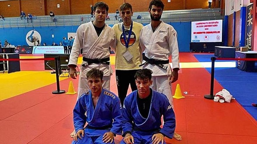 Pau Santacreu, de l'Esport-7, bronze als estatals universitaris