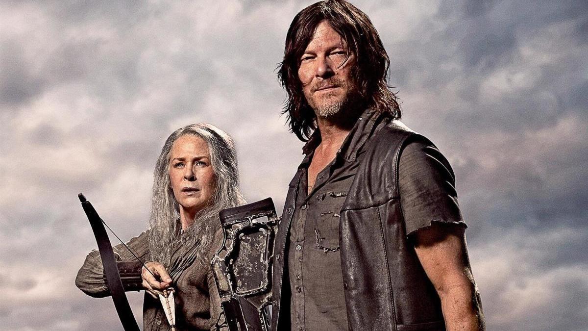 Daryl y Carol, personajes de 'The Walking Dead'.