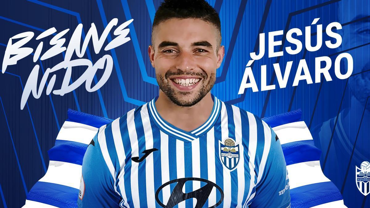 Jesús Álvaro, segundo fichaje del Atlético Baleares