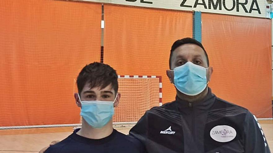 "Balonmano Zamora   Marco Torres: ""Me he sentido muy bien acogido"""