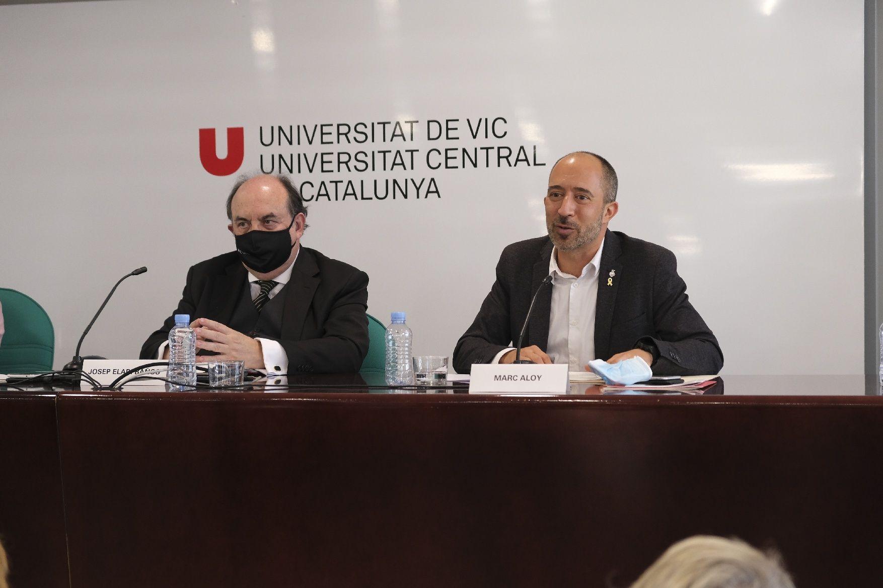 La inauguració del curs acadèmic 2021-22 de la UVic-UCC, en imatges