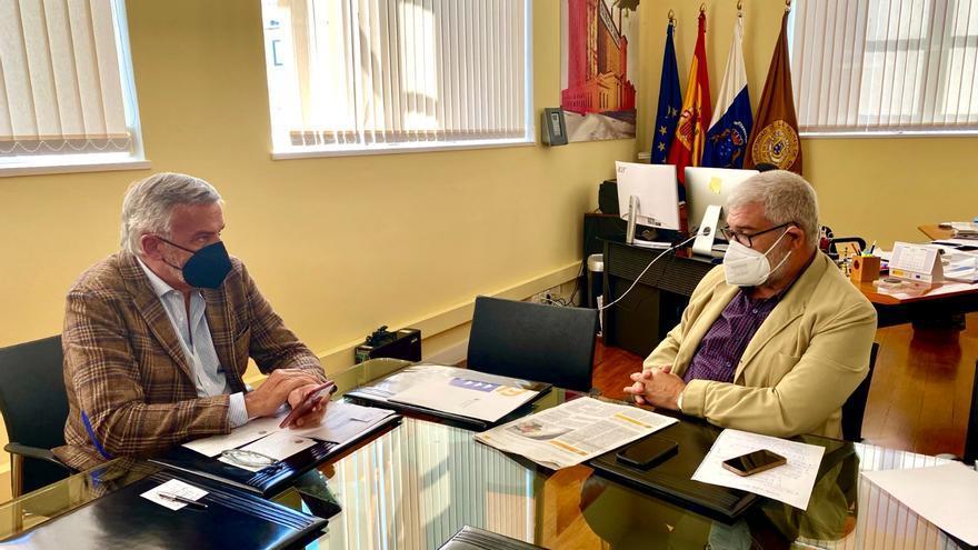 Turismo y ULPGC promoverán el estudio e investigación del Camino de Santiago entre Volcanes