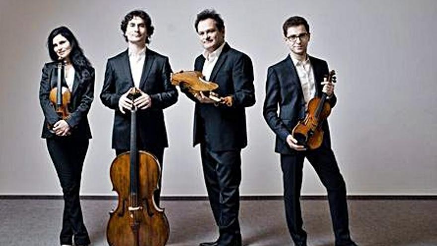 El Cuarteto Belcea trae su música al Teatro Principal de Alicante