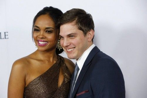 "Sharon Leal and Paul Becker arrive at the premiere of the movie ""The Impossible"" in Hollywood"