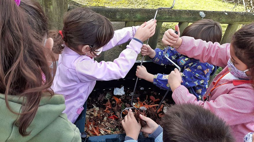 Las inscripciones para el programa de compostaje escolar están abiertas
