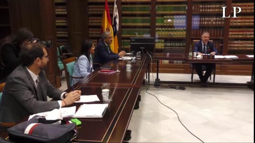 Plan de desescalada en Canarias | Torres se reúne con Ciudadanos en el Parlamento