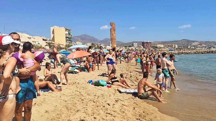 El Campello: playas a prueba de rayos