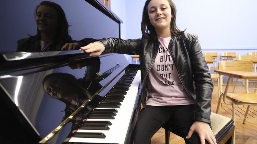 Henar Fernández Clavel, un virtuosa al piano de 15 años (y es de Avilés)