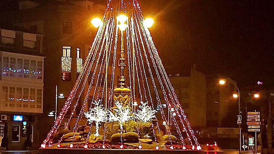 La Navidad en Marín tiene ya luz propia y banda sonora