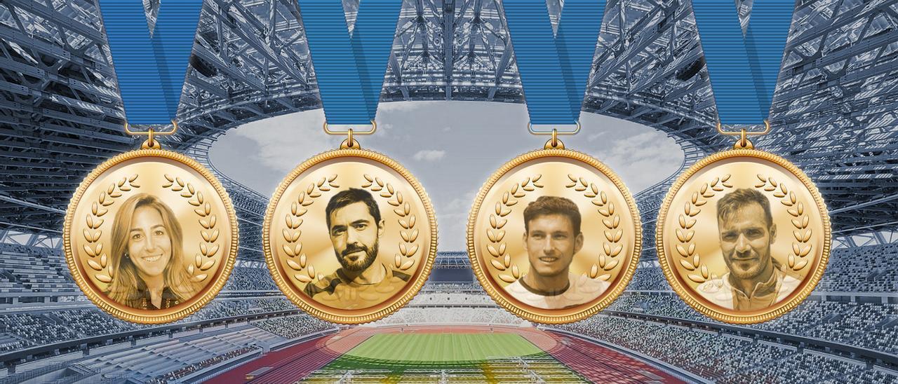 medallas asturianos juegos