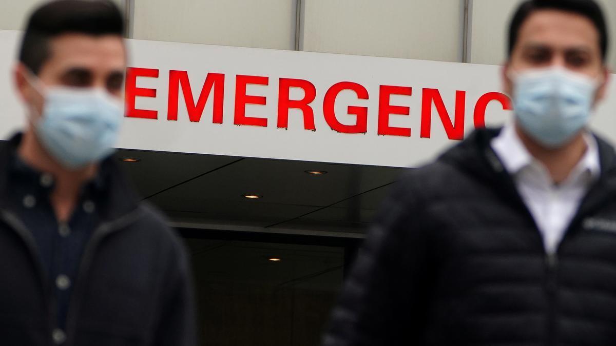 Urgencias de un hospital de EEUU.