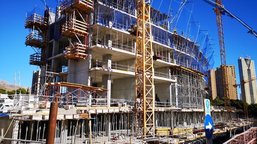 Alibuilding monitoriza la construcción de su nuevo gigante en Benidorm gracias al Internet de las Cosas