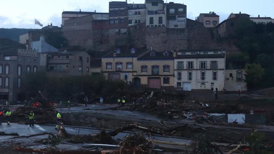 Pugen a cinc els desapareguts per les tempestes a Catalunya