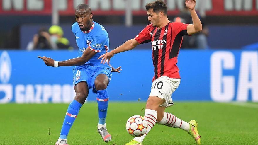 Milan - Atlético de Madrid, en directo