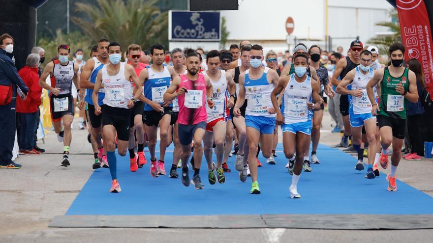 Youssef Ben Hadi logra el doblete tras ganar los 5K Playa d'en Bossa