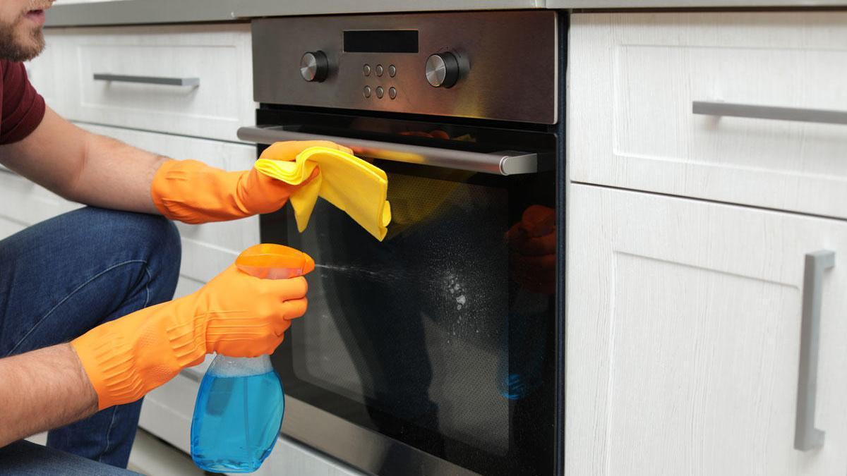 Cómo limpiar el horno.