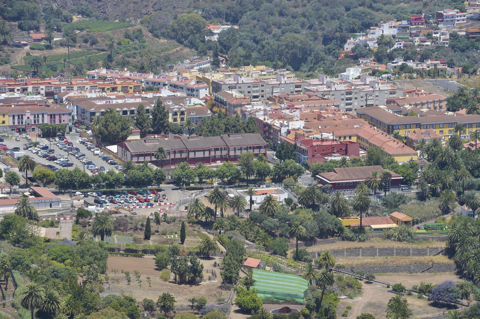 Miradores de Tres Piedras y La Concepción, en La Atalaya